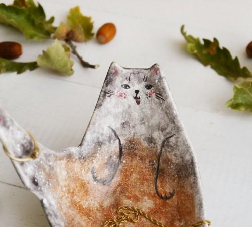 Kotek miseczka- spersonalizowana podobizna Twojego kota 1