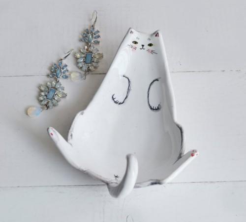 Kotek miseczka- spersonalizowana podobizna Twojego kota 2